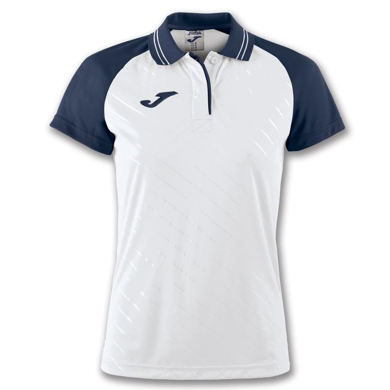 f379b102ebe23 JOMA TORNEO II damska koszulka polo XXL/3XL, biały/granat - Dresy ...